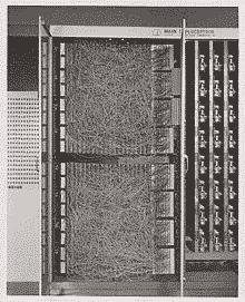 Deep Learning - Photo du premier perceptron Mark I