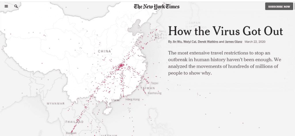 storymap crise migratoire